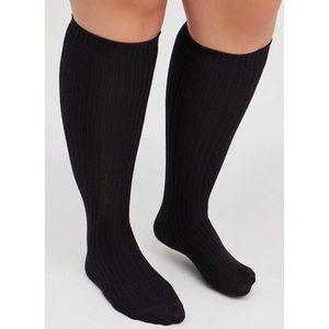 🆕 Butter Soft Black Knee High Socks Size 7-9 NawT Torrid New!